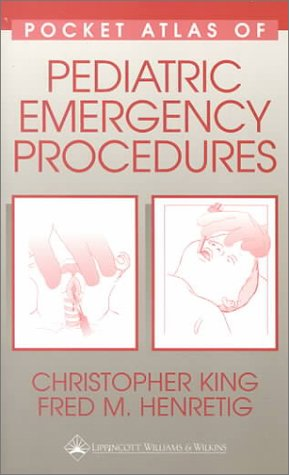 9780683306668: Pocket Atlas of Pediatric Emergency Procedures