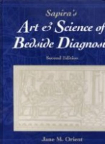 9780683307146: Sapira's Art and Science of Bedside Diagnosis