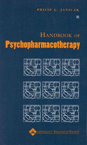 9780683307221: Handbook of Psychopharmacotherapy
