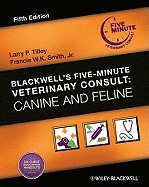 9780683307306: 5 Minute Veterinary Consult Canine and Feline