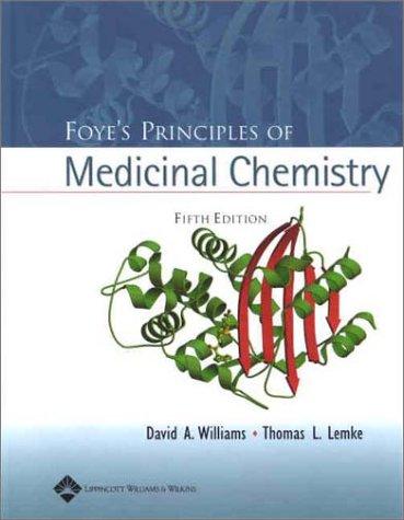 9780683307375: Foye's Principles of Medicinal Chemistry