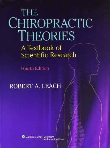 9780683307474: The Chiropractic Theories: A Textbook of Scientific Research