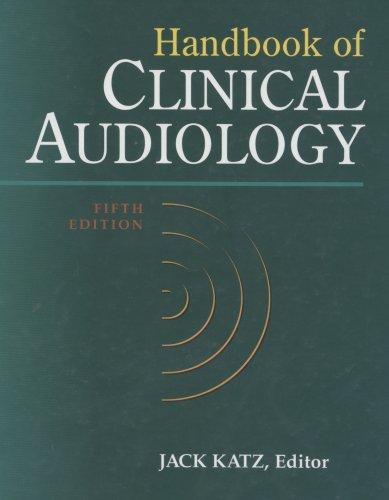 9780683307658: Handbook of Clinical Audiology