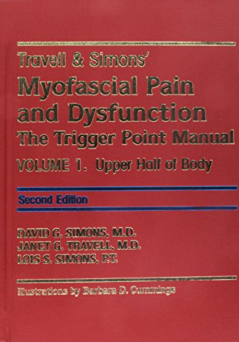 9780683307719: Travell & Simons' Myofascial Pain and Dysfunction: The Trigger Point Manual