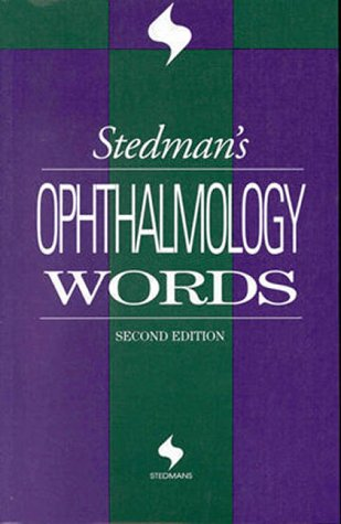 9780683307764: Stedman's Ophthalmology Words
