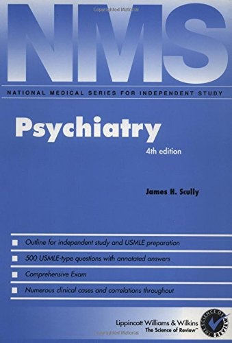 9780683307917: NMS Psychiatry (National Medical Series for Independent Study)