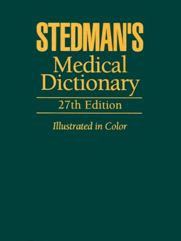 9780683400076: Stedman's Medical Dictionary