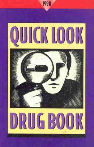 Quick Look Drug Book, 1998 (0683401742) by Leonard L. Lance