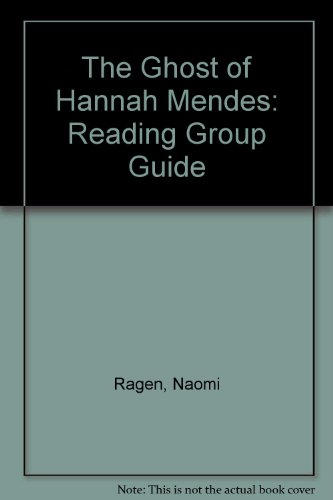 9780684007403: The Ghost of Hannah Mendes: Reading Group Guide