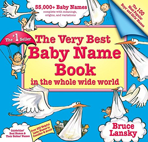 9780684028736: Very Best Baby Name Book