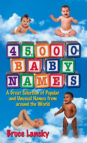 9780684030890: 45,000 + Baby Names