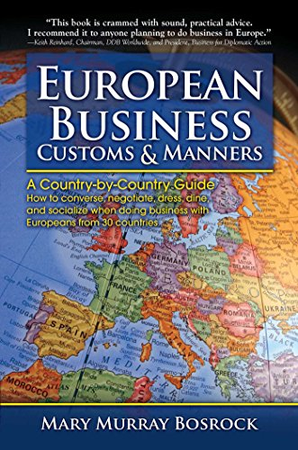 9780684040011: European Business Customs & Manners: A Country-by-Country Guide to European Customs and Manners