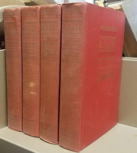 R. E. Lee: A Biography (4 Volume: Douglas Southall Freeman