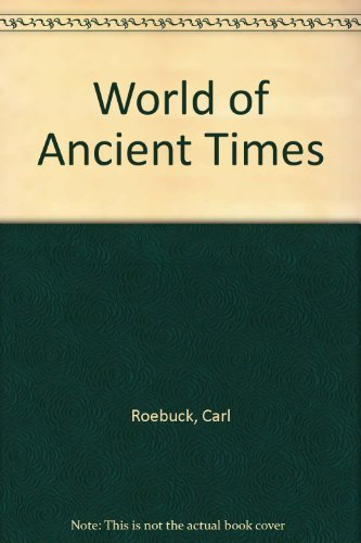 9780684105024: World of Ancient Times