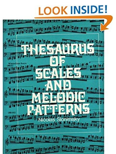 9780684105512: Thesaurus of Scales and Melodic Patterns