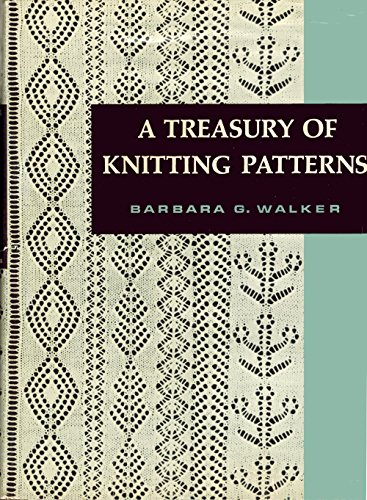 9780684106274: A treasury of knitting patterns
