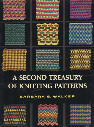9780684106281: Second Treasury of Knitting Patterns