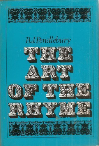 9780684124872: The art of the rhyme
