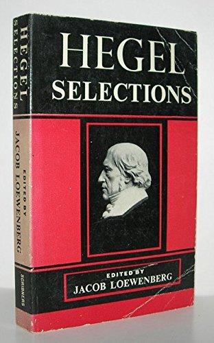9780684125268: Hegel Selections
