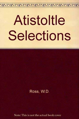 9780684125503: Aristotle: Selections
