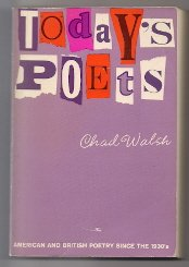9780684127019: Today's poets; American and British poetry since the 1930's