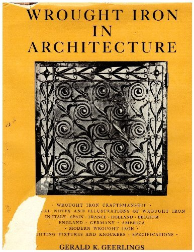 9780684128429: Wrought iron in architecture