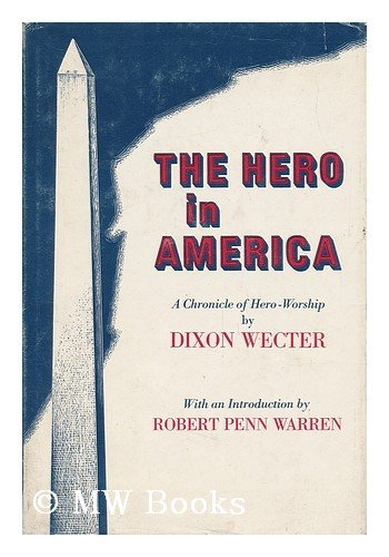 9780684129938: The hero in America;: A chronicle of hero-worship