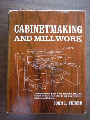 9780684132778: Cabinetmaking and Millwork