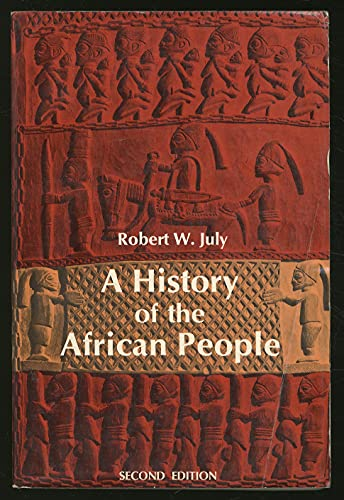 9780684137209: A history of the African people,