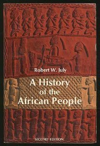 9780684137476: A HISTORY OF THE AFRICAN PEOPLE.