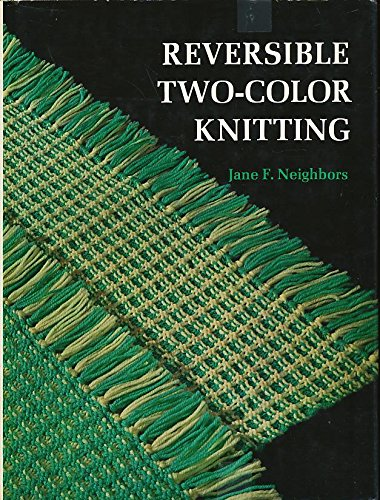 9780684139050: Reversible two-color knitting