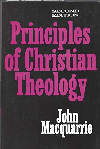 Principles of Christian Theology: John MacQuarrie