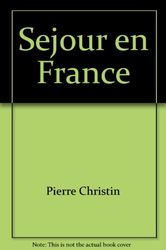 9780684140193: Séjour en France (The Scribner French series) (French Edition)