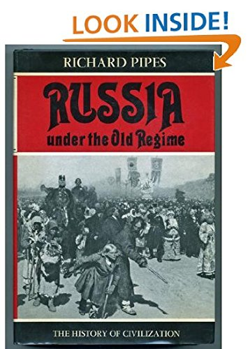 9780684140414: Russia Under the Old Regime (The History of Civilization Series)