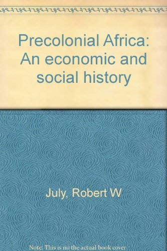 9780684143187: Precolonial Africa: An economic and social history