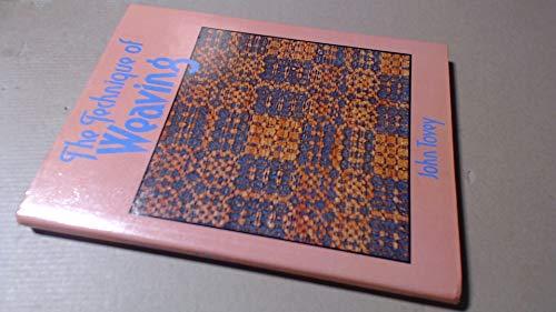 9780684143224: The technique of weaving
