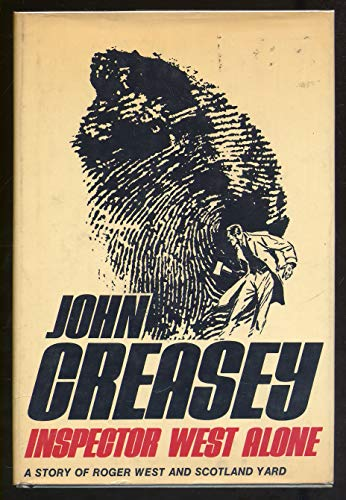 Inspector West Alone: Creasey, John