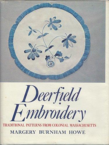 Deerfield embroidery: Margery Burnham Howe