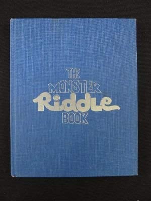 The monster riddle book: Sarnoff, Jane