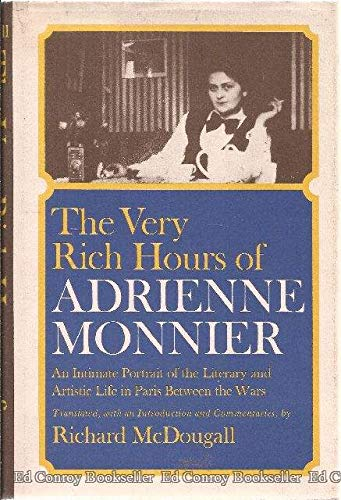 9780684145020: The Very Rich Hours of Adrienne Monnier