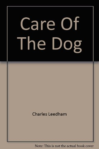 Care of the Dog