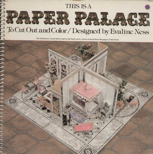 9780684147086: This is a Paper Palace to Cut Out and Color