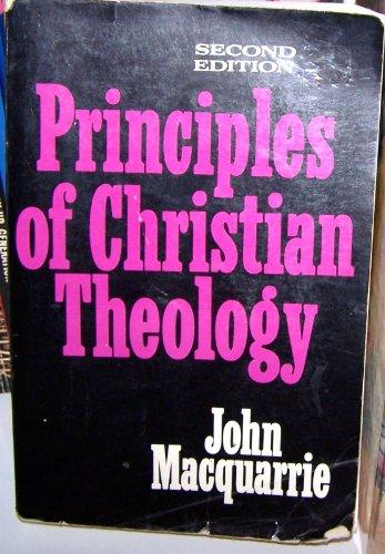 9780684147772: Principles of Christian Theology