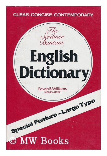 9780684148717: The Scribner-Bantam English dictionary