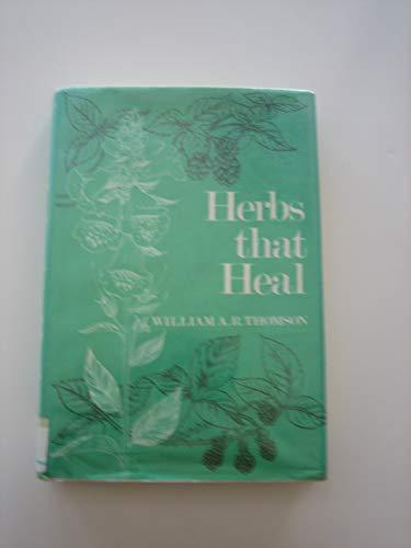 9780684149127: Herbs That Heal