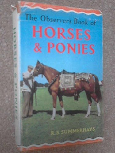 9780684149455: Observer's Book of Horses and Ponies