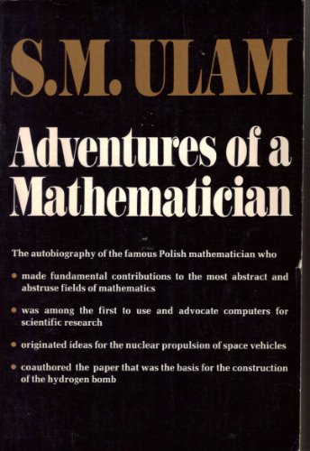 9780684150642: ADVENTURES OF A MATHEMATICIAN