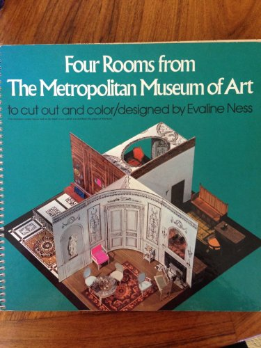 9780684151779: Four Rooms from the Metropolitan Museum of Art to Cut Out and Color