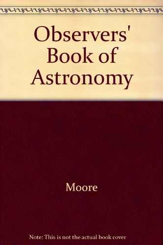 9780684152035: Observers' Book of Astronomy