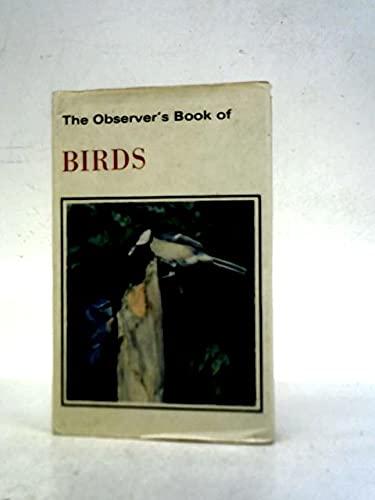 9780684152042: Observer's Book of Birds
